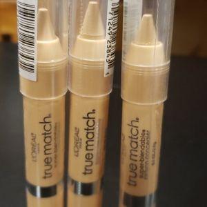 L'Oreal True Match Crayon Concealer (3 Pack)